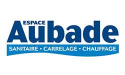 Logo Aubade - Deslandes Sanitaire Chauffage, plombier à Senonches (28)
